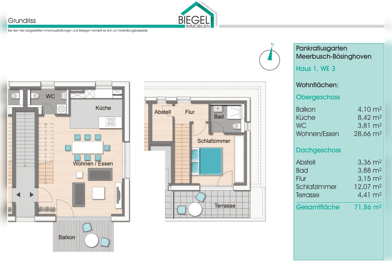 Immobilie Nr.BÖ-01.3   Von-Arenberg-Str. 27, 40668 Meerbusch-Bösinghoven